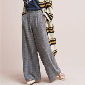 Cartonnier Elisa Wide Leg Jacquard Trousers